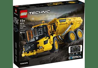LEGO Knickgelenkter Volvo-Dumper (6x6) Bausatz, Mehrfarbig