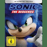 Sonic the Hedgehog - 4K UHD -  limitiertes Steelbook 4K Ultra HD Blu-ray + Blu-ray