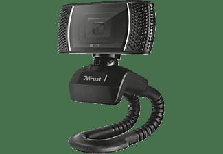 TRUST Webcam Trino HD Video mit Mikrofon, schwarz (18679)