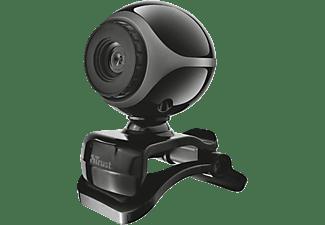 TRUST Webcam Exis mit Mikrofon, schwarz (17003)
