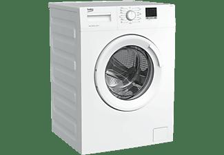 Lavadora carga frontal - Beko WTE 6511 BWR, 6 kg, 1000 rpm, 15 programas, Blanco