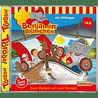 Benjamin Blümchen - Folge 146:Die Wikinger  - (CD)
