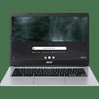 ACER Chromebook 14 (CB314-1H-C6KW), Chromebook mit 14 Zoll Display, Celeron® Prozessor, 4 GB RAM, 64 GB eMMC, Intel® UHD Grafik 600, Silber