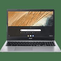 ACER Chromebook 15 (CB315-3HT-C47Q), Chromebook mit 15,6 Zoll Display Touchscreen, Celeron® Prozessor, 4 GB RAM, 64 GB eMMC, Intel® UHD-Grafik 600, Silber