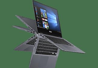 ASUS VivoBook Flip 14 TP412FA-EC452T, i3-10110U, 8GB/256GB, 14 Zoll Touch FHD, grau(90NB0N31-M13010)