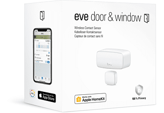 EVE Door & Window Tür- und Fernsterkontaktsensor Weiß