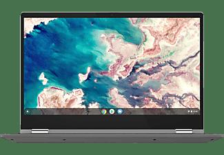 LENOVO IdeaPad Flex 5, Chromebook mit 13,3 Zoll Display Touchscreen, Celeron® Prozessor, 4 GB RAM, 64 GB eMMC, Intel UHD Grafik, Graphitgrau
