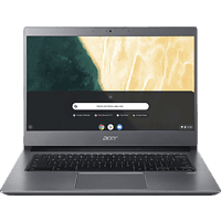 ACER Chromebook 714 (CB714-1WT-59DB), Chromebook mit 14 Zoll Display, Core™ i5 Prozessor, 8 GB RAM, 128 GB eMMC, Intel® UHD-Grafik 620, Anthrazit
