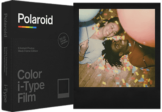 POLAROID Sofortbildfilm Color i‑Type Film Black Frame Edition (659006019)