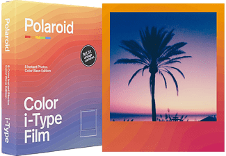 POLAROID Sofortbildfilm Color i‑Type Film Color Wave Edition (659006018)
