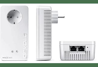 DEVOLO 8614 Magic 2 WiFi next Starter Kit Powerline Adapter 2400 Mbit/s Kabellos und Kabelgebunden