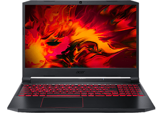 ACER Gaming Notebook Nitro 5, R7-4800H, 8GB RAM, 512GB SSD, GTX 1650Ti, 15.6 Zoll FHD, schwarz