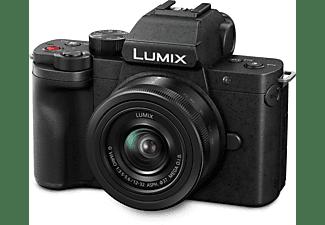 PANASONIC DC-G110KEG-K Kit Systemkamera mit Objektiv 12-32 mm, 7,5 cm Display Touchscreen