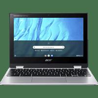 ACER Chromebook Spin 311 (CP311-3H-K2RJ), Chromebook mit 11,6 Zoll Display, Octa-Core ARM Cortex A73/A53 Prozessor, 4 GB RAM, 64 GB eMMC, Mali-G72 MP3 GPU, Silber