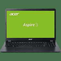 ACER Aspire 3 (A315-56-53P2), Notebook mit 15,6 Zoll Display, Core™ i5 Prozessor, 8 GB RAM, 1,000 GB SSD, Intel UHD Grafik, Schwarz