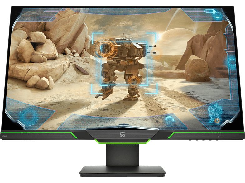 HP X27i 27 Zoll QHD Gaming Monitor 4 ms Reaktionszeit, 144 Hz