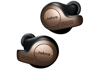 Jabra Elite 65t - Auriculares True Wireless (Bluetooth 5.0, Inalámbricos)  con Asistente de Voz, Negro y Cobre