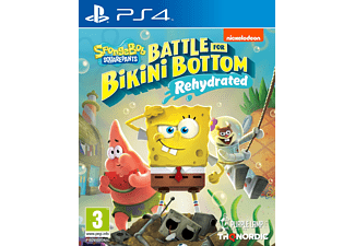 SpongeBob SquarePants: Battle For Bikini Bottom - Rehydrated (PlayStation 4)
