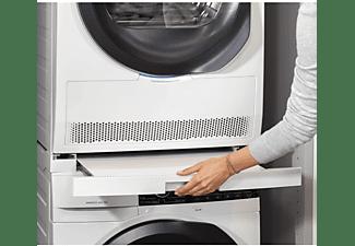 Accesorio lavadora - Bastidor lavadora y secadora, AEG STA9GW, Bandeja deslizante 54-60 cm, Blanco