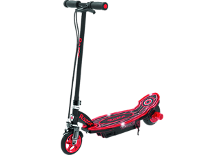 RAZOR Power Core E90 Glow - E-Scooter (Nero/Rosso)