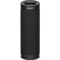 SONY SRS-XB23 tragbar, kabellos, 12h Akkulaufzeit, EXTRA BASS Bluetooth Lautsprecher, Schwarz, Wasserfest