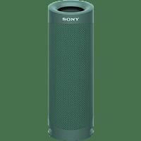 SONY SRS-XB23 tragbar, kabellos, 12h Akkulaufzeit, EXTRA BASS Bluetooth Lautsprecher, Grün, Wasserfest