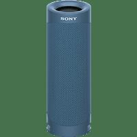 SONY SRS-XB23 tragbar, kabellos, 12h Akkulaufzeit, EXTRA BASS Bluetooth Lautsprecher, Blau, Wasserfest