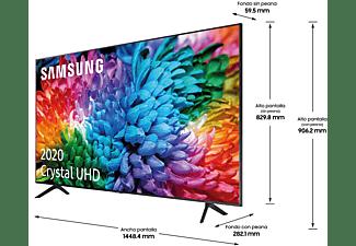"TV LED 65"" - Samsung Crystal UHD 65TU7125, UHD, 4K Real, Smart TV, HDR10+, Compatible con Asistentes de Voz"