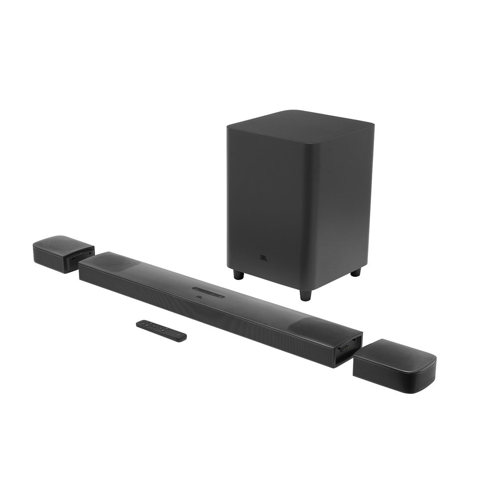 Barra de sonido - JBL Bar 9.1, Inalámbrico, 820 W, Negro