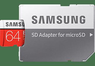SAMSUNG MB-MC64HA-EU, Micro-SDXC Speicherkarte, 64 GB