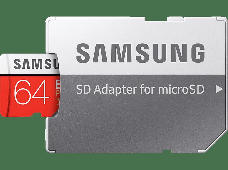 SAMSUNG Micro-SDXC Speicherkarte, 64 GB