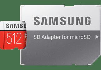 SAMSUNG MB-MC512HA-EU, Micro-SDXC Speicherkarte, 512 GB