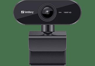 SANDBERG USB Webcam Flex 1080P HD, 2MP, 30fps, 360°, schwarz (133-97)
