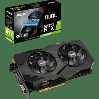 ASUS GeForce® RTX 2060 SUPER™ Dual Evo V2 OC 8GB (90YV0DZ0-M0NA00) (NVIDIA, Grafikkarte)