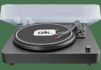 OK. Plattenspieler OTT-100 mit integrierten Lautsprechern