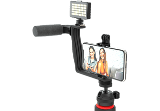 DIGIPOWER Superstar Essential - Vlogging Kit (Schwarz)