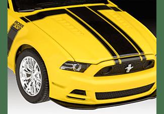 REVELL 67652 Model Set 2013 Ford Mustang Boss  Modellbausatz, Gelb