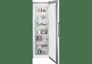 Congelador vertical - AGB728E5NX, No Frost, Antihuellas,  Inox
