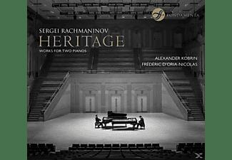 D'Oria-Nicolas, Frédéric   Kobrin, Alexander - Heritage  - (CD)