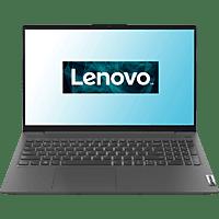 LENOVO IdeaPad 5, Notebook mit 15,6 Zoll Display, Ryzen™ 7 Prozessor, 16 GB RAM, 512 GB SSD, Radeon Grafik, Graphitgrau