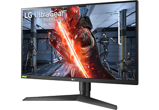 "Monitor gaming - LG UltraGear 27GN750-B, 27"" Full-HD, 1 ms, 240 Hz, FreeSync, DisplayPort, HDMI, USB, Negro"