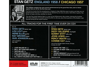 Stan Getz - England 1958/Chicago 1957  - (CD)