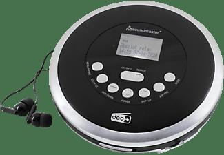 SOUNDMASTER CD9290SW Discman Schwarz-Silber