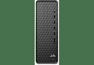 HP Slim Desktop S01-aF0300ng, Desktop-PC mit Athlon Silver Prozessor, 4 GB RAM, 256 GB SSD, Radeon Graphics