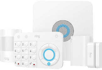 RING Alarm Security Kit 5-teilig Alarmsystem, Weiß