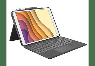 "Funda con teclado - Logitech Combo Touch, para iPad Air 3ºGen/iPad Pro 10.5"", Teclado Qwerty, Smart Connector"