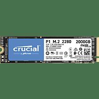 CRUCIAL CT2000P1SSD8, 2 TB, SSD, intern