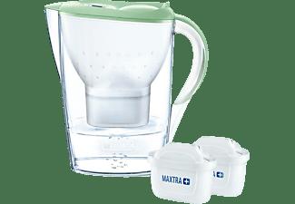 BRITA 106645 MARELLA inkl. 2 MAXTRA+ Wasserfilterkanne, Hellgrün