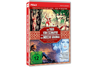 Der Tiger von Eschnapur & Das indische Grabmal DVD
