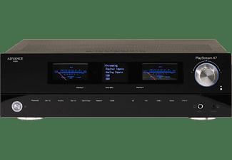 ADVANCE PARIS Streaming Verstärker PlayStream A7, schwarz